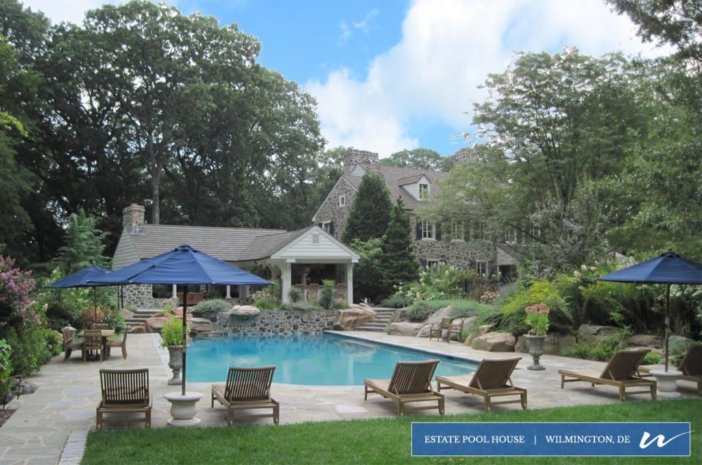 Estate Pool House