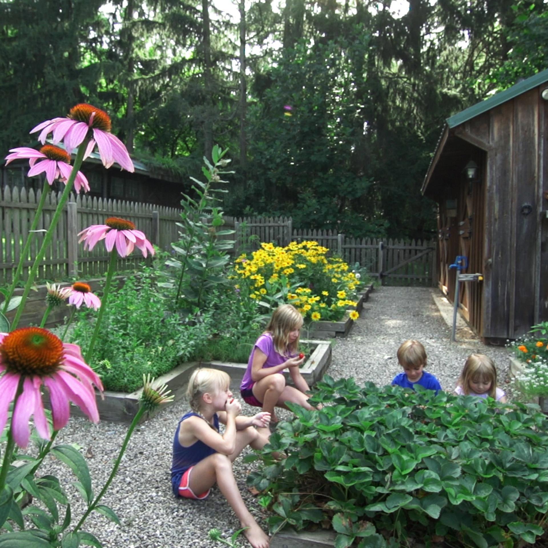 kid-friendly-garden-vegetable-garden-gardening-with-children
