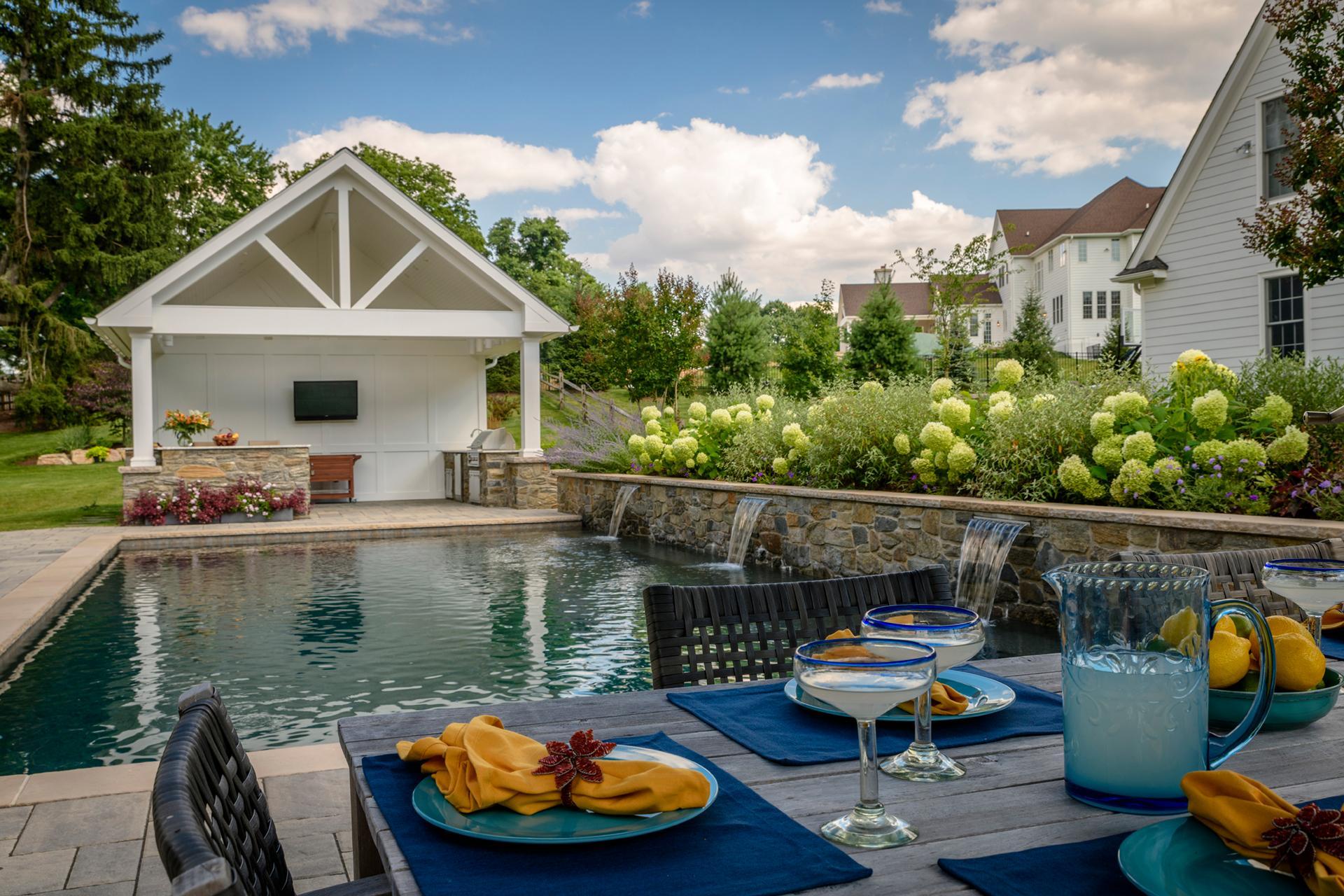 main-line-pa-wayne-outdoor-dining-alresco-pool-design-ideas