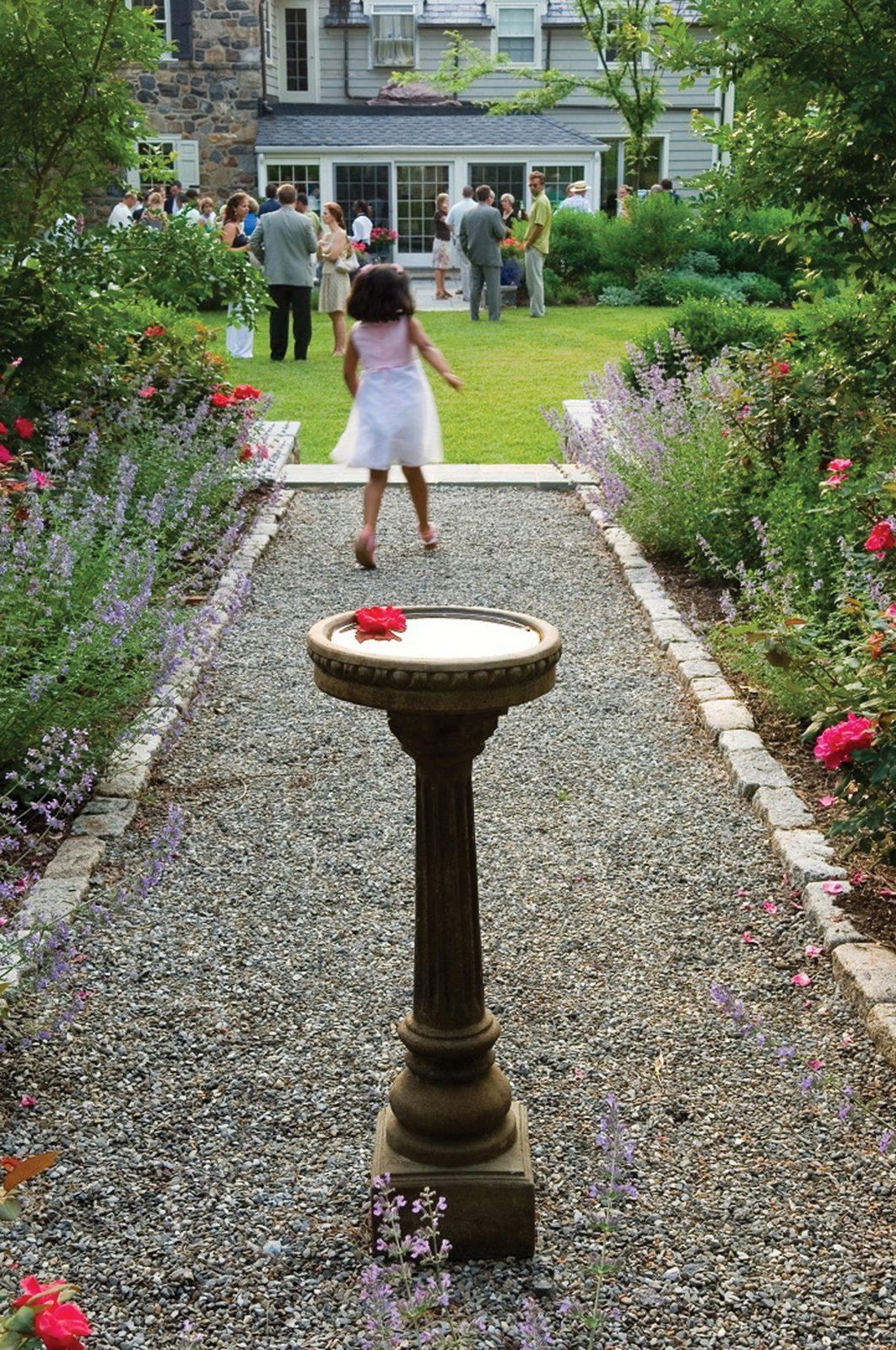 pebble-path-bird-bath-landscpae-design-birdbath-pathway-west-chester-pa