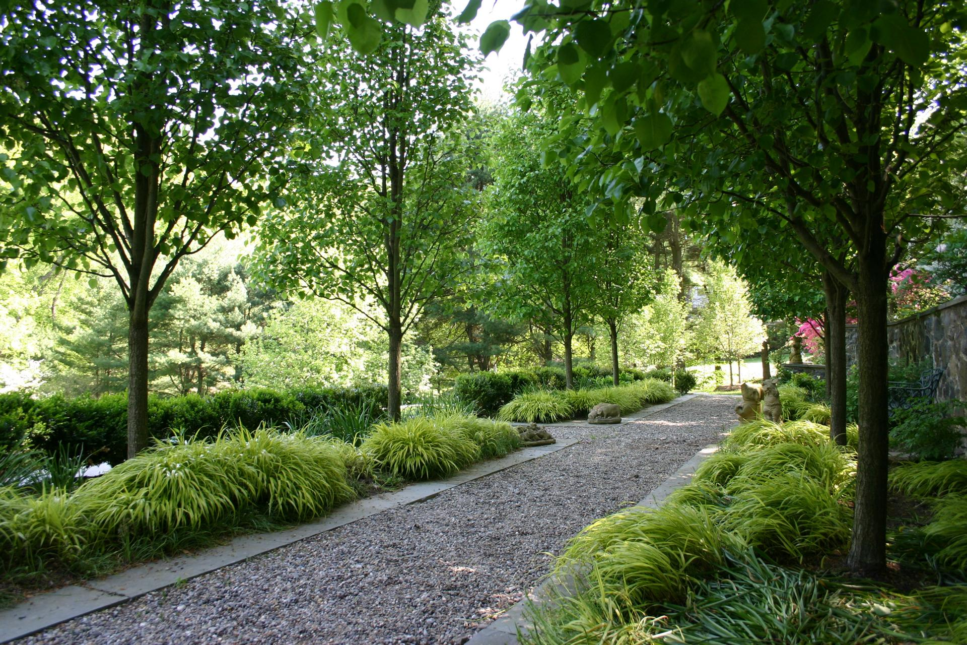 gravel-path-driveway-landscape-design-chester-county-pa