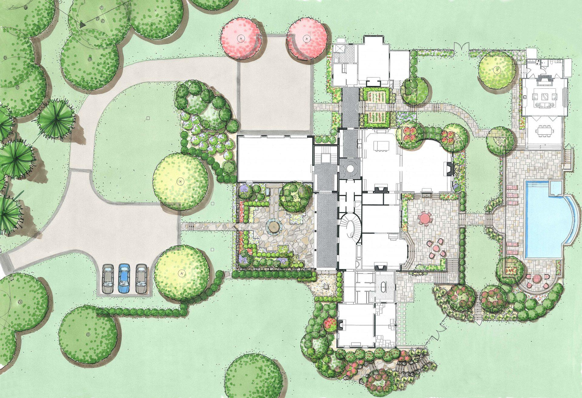 concept-color-plan-drawing-landscaping-design-chester-county-pa-estate