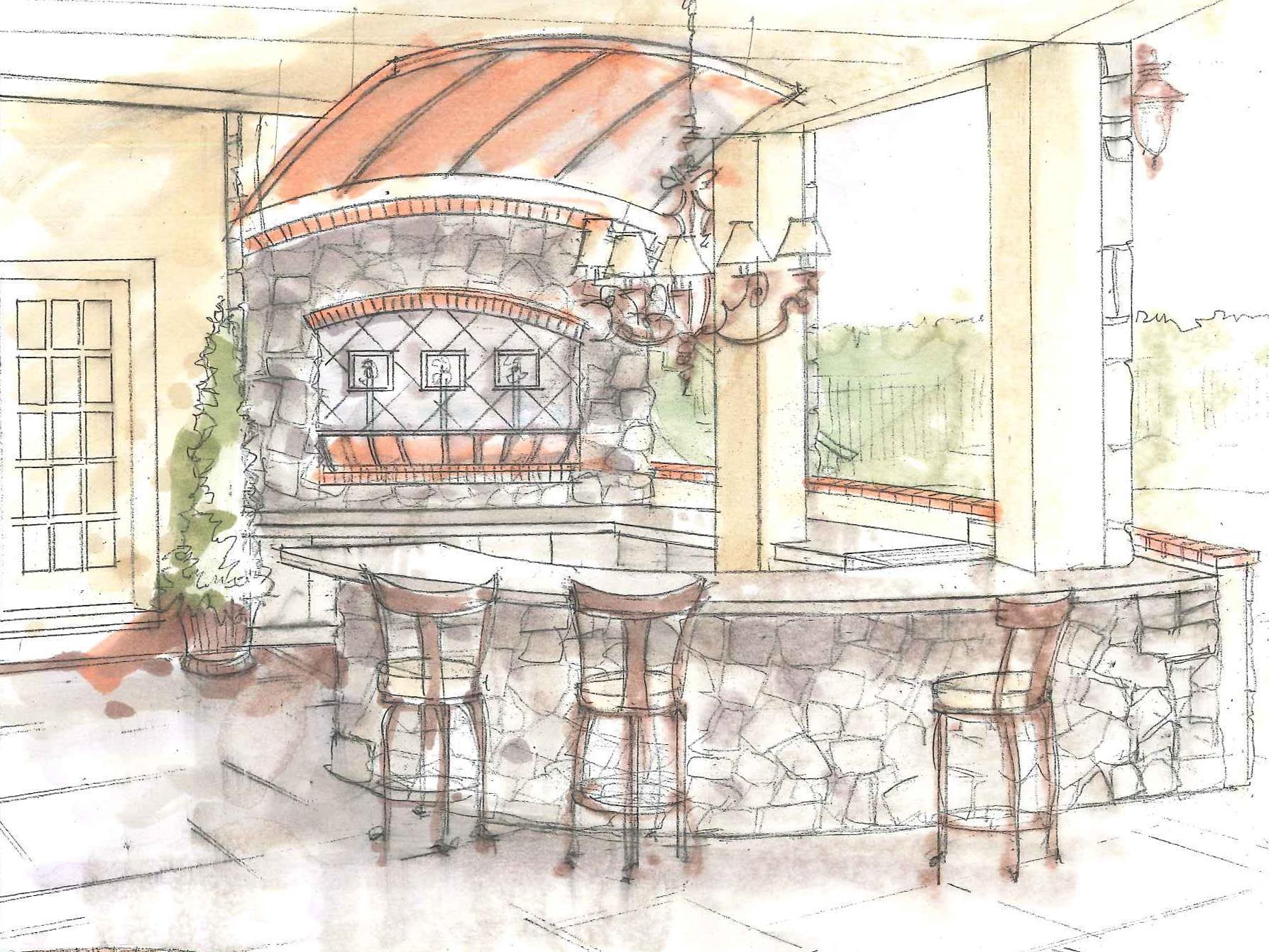 outdoor-bar-lighting-formal-design-concept-sketch-wayne-pa
